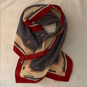 Vintage AMTRAK scarf